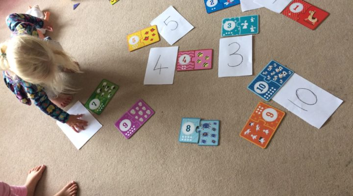 Early counting, number recognition and number bonds to 10